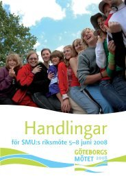 Handlingar till riksmötet - Svenska Missionskyrkan