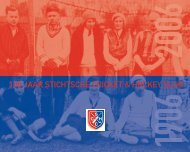 100 JAAR STICHTSCHE CRICKET & HOCKEY CLUB - Het Van der ...