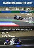 Press Book 2012 qualité web - moto club haut-saônois - Page 3