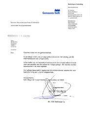 College van B&W_ concept welstandsnota Delft 2013 verslag van ...