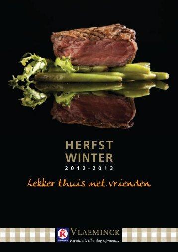 HERFST WINTER - Keurslagerij Vlaeminck