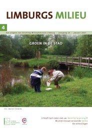 Limburgs Milieu nr. 4 2006 - Milieufederatie Limburg