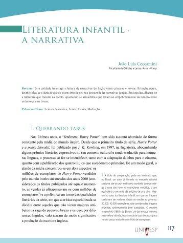Literatura infantil - a narrativa - Acervo Digital da Unesp