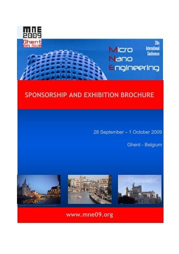 SPONSORSHIP AND EXHIBITION BROCHURE - MNE