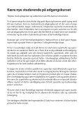 Kære nye studerende på adgangskurset - Velkommen til Rus-A - Page 2