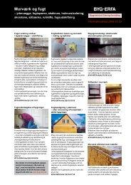 Murværk og fugt - – ydervægge, fugtspærre, skalmure - Byg-Erfa