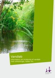Information om krydsning af vandløb med rørledninger, kabler mv.