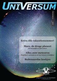 Universum 3 2010 - Sterrenkunde in Nederland