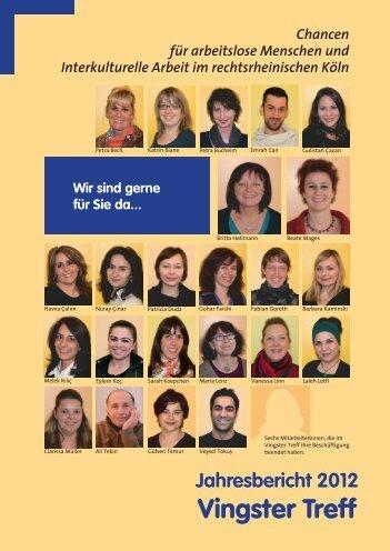 Jahresbericht 2012 - Bürgerzentrum Vingst