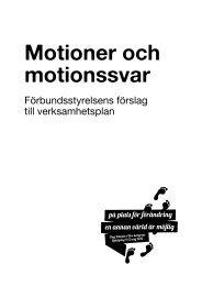 Förbundsstyrelsens förslag till verksamhetsplan ... - Ung Vänster