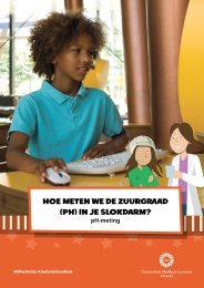pH-meting - Wilhelmina Kinderziekenhuis