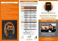 Australia's Premier Ned Kelly Event - Ned Kelly Australian Ironoutlaw