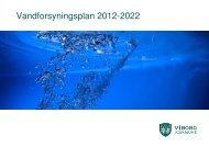 Vandforsyningsplan 2012-2022 - Viborg Kommune