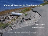 Dr. Norm Catto Coastal Erosion in NL.pdf - Atlantic Climate ...
