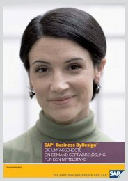 SAP® Business ByDesign™ - CIB - Computer