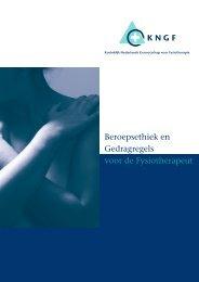 Beroepsethiek en Gedragsregels voor de Fysiotherapeut