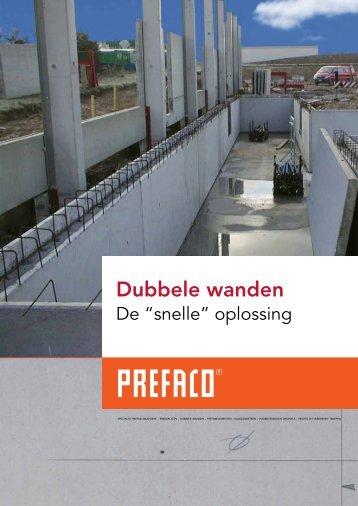 Brochure Dubbele Wanden - Prefaco
