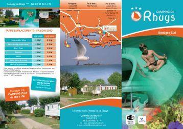 Brochure - Camping de Rhuys