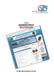 Notitie Jeugdparticipatie.pdf - Welkom bij gemeente Hellevoetsluis