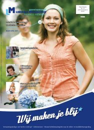 Terugbetalingstarieven Nieuwe brochure over een gezond gewicht ...