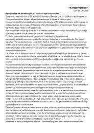 Finansministerens redegørelse af 22. juni 2005 (pdf) - Rigsrevisionen