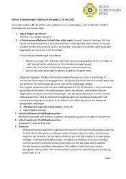 Referat fra beboermøde i afdeling 20, Norsgade, d. 25. maj 2011 ...