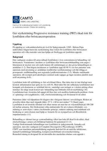 Ger styrketräning _PRT_ ökad risk för lymfödem _2