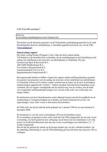 Bespreken motie IH'82 over bedrijfs - Gemeente Helden