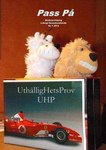 UHP - Svenska Brukshundklubbens Stockholmsdistrikt