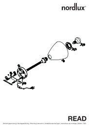 Monteringsanvisning | Montageanleitung | Mounting ... - Taloon.com