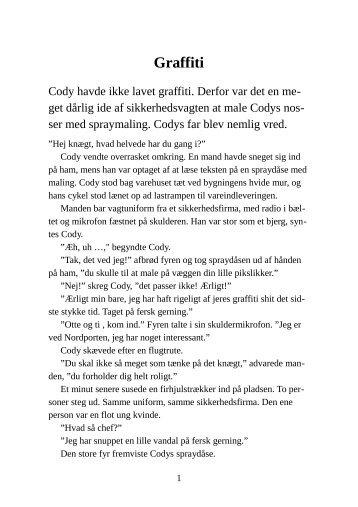 Graffiti - Pedofil.dk