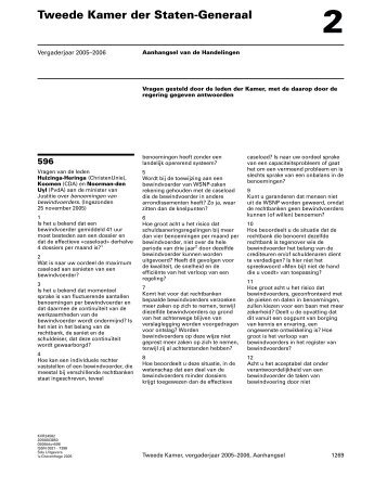 Benoemingen van bewindvoerders - Wsnp - Raad voor Rechtsbijstand