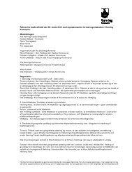 Referat af kvartalsmøde med taxavognmænd 26. marts 2012