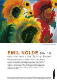 EMIL NOLDE15.5-11.9 - Nordiska Akvarellmuseet