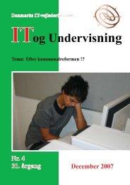 Hent nummer 2007/4 som pdf - IT-vejlederforeningen