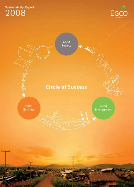 Sustainability Report 2008 - Electricity Generating Public Co