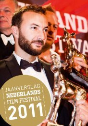 Jaarverslag 2011 - Nederlands Film Festival