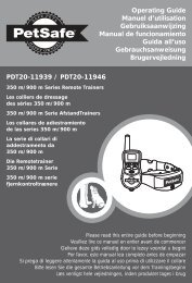 PDT20-11939 / PDT20-11946 Operating Guide ... - Boxer Security