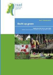 Recht op groen - Selderust.nl
