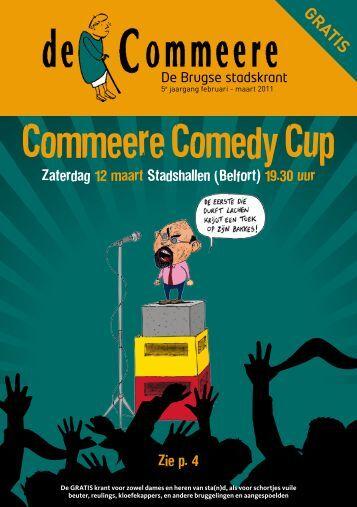 e Commeere Comedy Cup - De Commeere