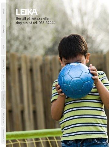 """Download """"LEIKA Sport & motorik.pdf"""" - Leika.se"""