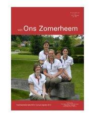Infokrant juni-jul-aug 2013 versie website.pdf - WZC Ons Zomerheem
