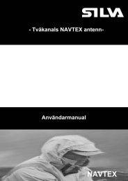 Användarmanual - Nexus Marine