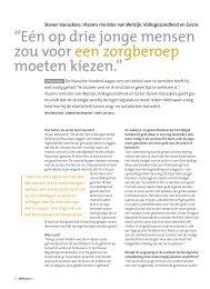 Interview met Steven Vanackere, Vlaams minister van ... - Weliswaar