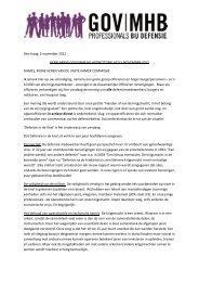 verklaring gov|mhb bij hoorzitting vcd 5 nov 2012 - ProDef