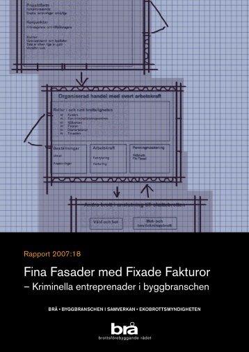 Fina Fasader med Fixade Fakturor - Publikationer från Sveriges ...