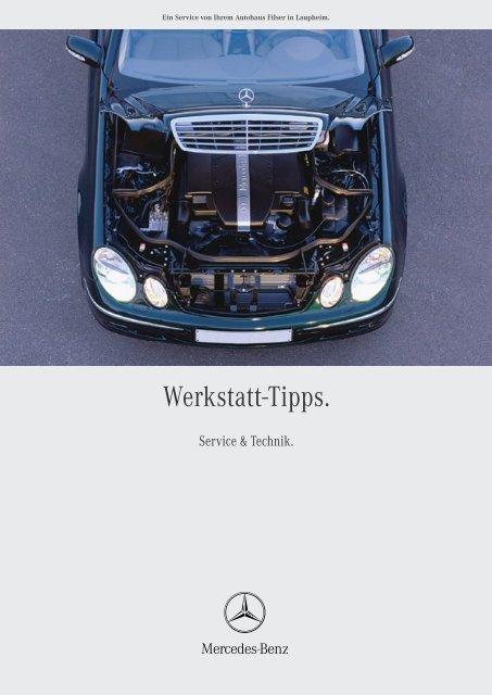 Werkstatt-Tipps. - Autohaus Filser Gmbh