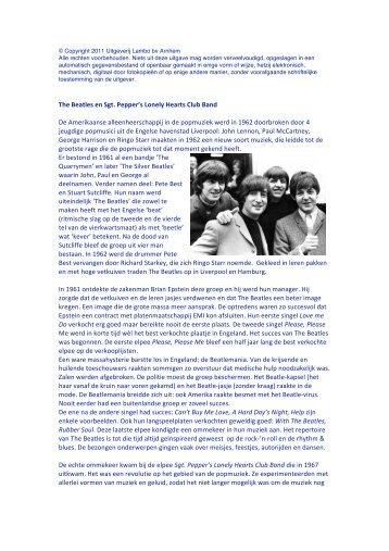 The Beatles - Lambo