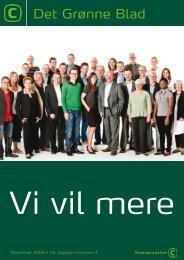Nr. 4-2009 - Konservative Folkeparti