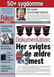 50+ sygdomme, nr. 1 2010 - Fokusmagasinet